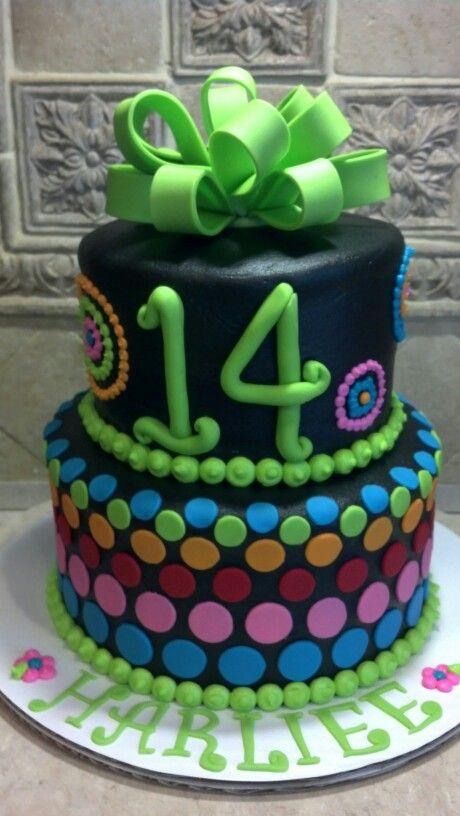 Magnificent 14Th Birthday Cake Yummy Cakes 14Th Birthday Cakes Birthday Cake Funny Birthday Cards Online Alyptdamsfinfo