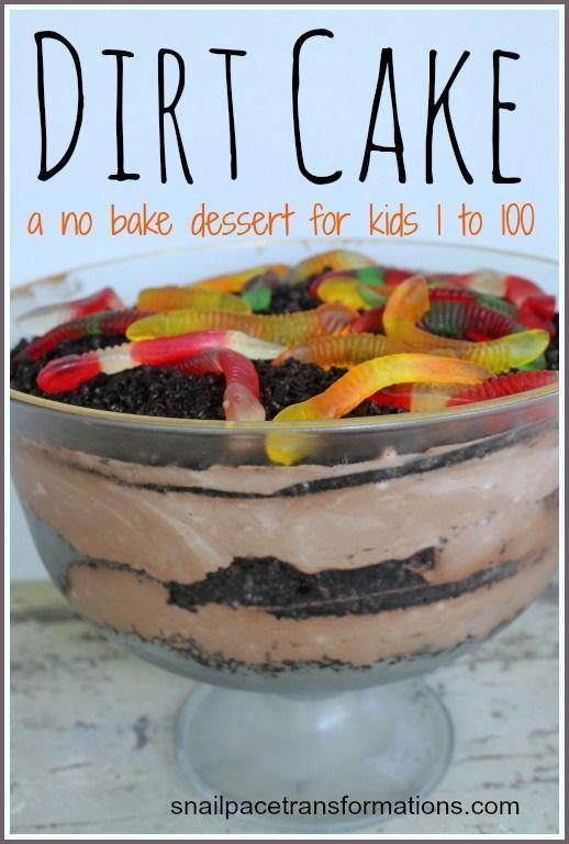 Dirt Cake Recipe Cake Food and Recipes
