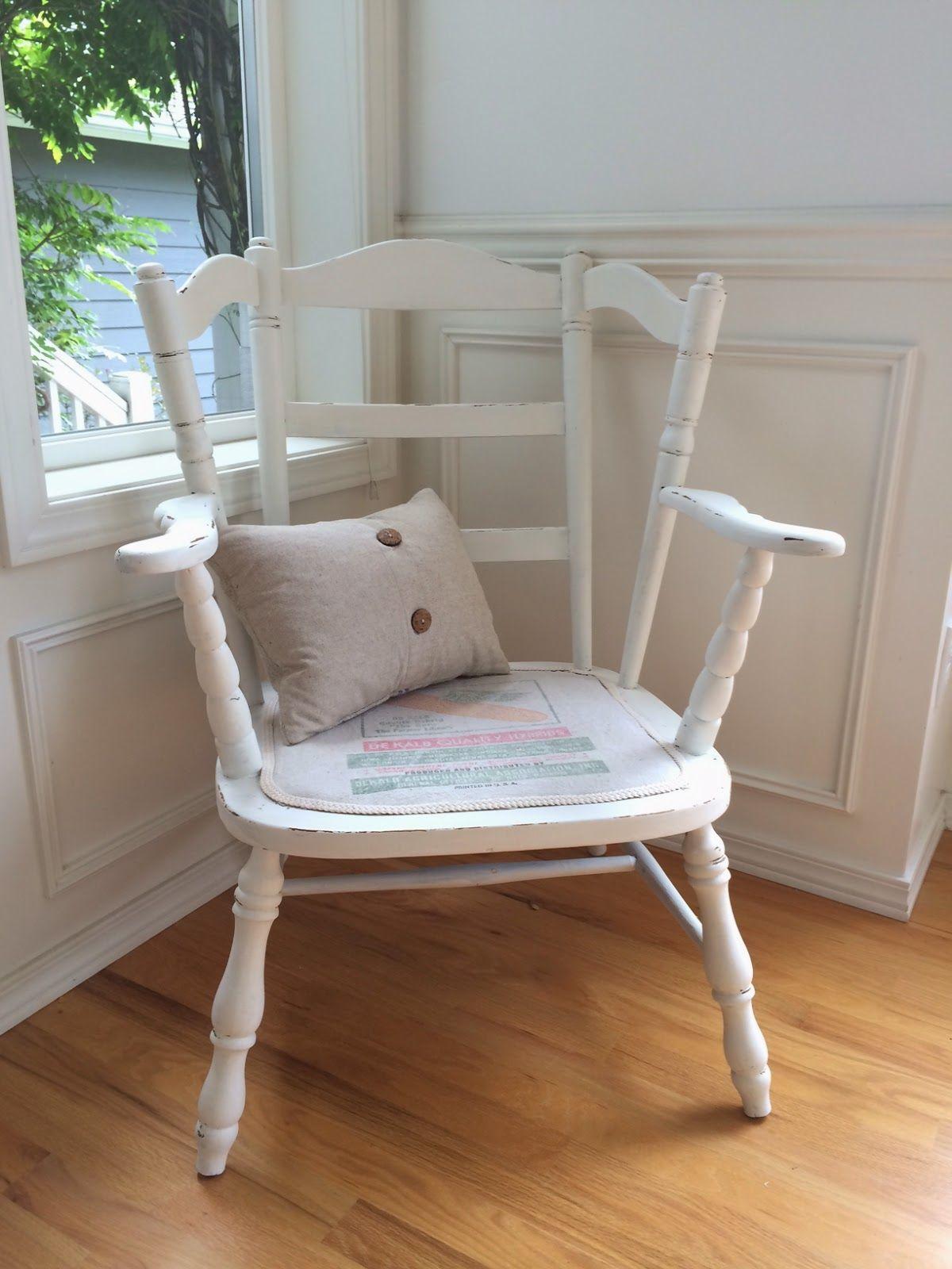 French chair makeover Farmhouse chairs, Farmhouse