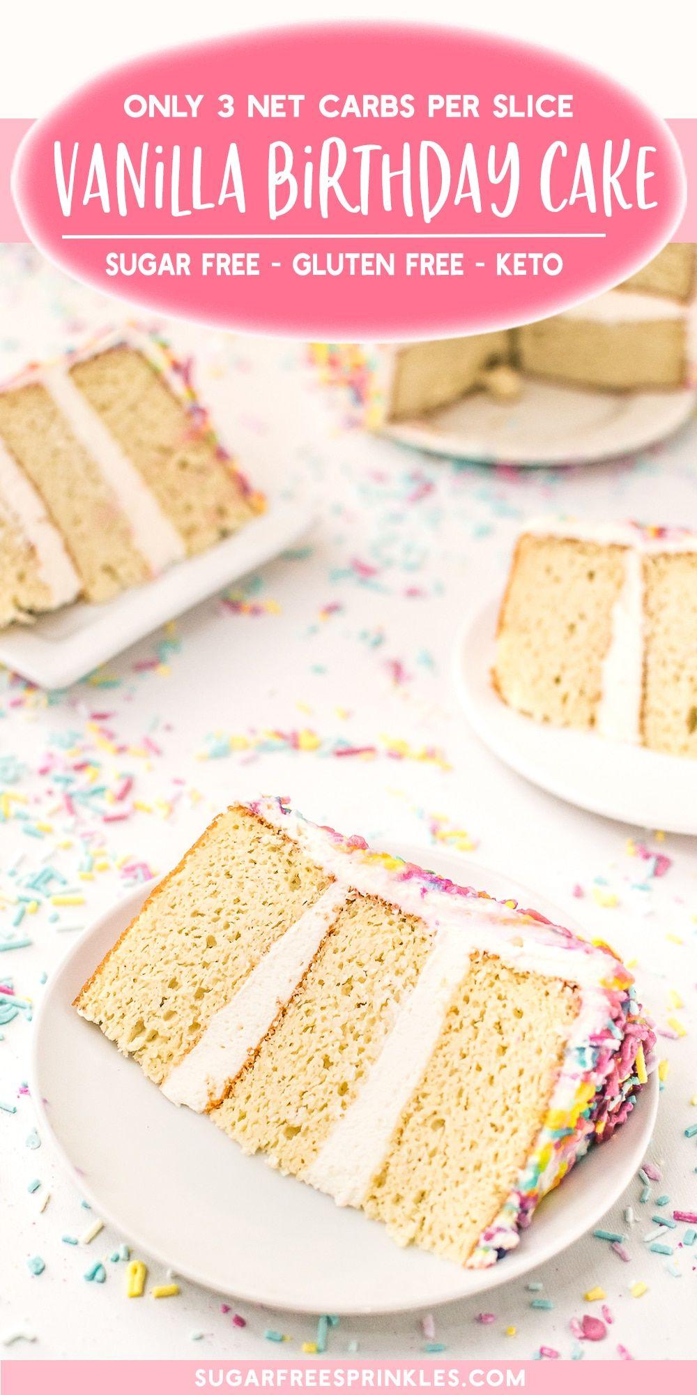 Make A Sugar-Free Birthday Cake Everyone Will Love