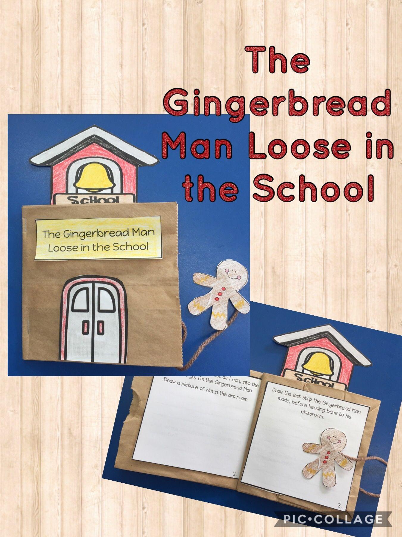 Gingerbread Man Loose In The School