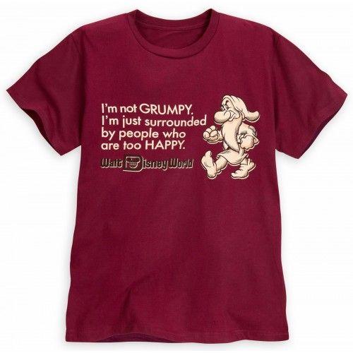 814eaf34 Disney World Grumpy T Shirt reads