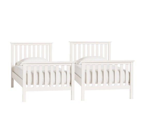 Best Elliott Twin Over Twin Bunk Bed Twin Bunk Beds Bed 400 x 300