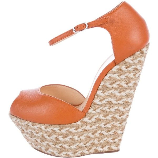 clearance largest supplier Giuseppe Zanotti Peep-Toes Espadrille Wedges buy cheap view top quality sale online ENgME3W