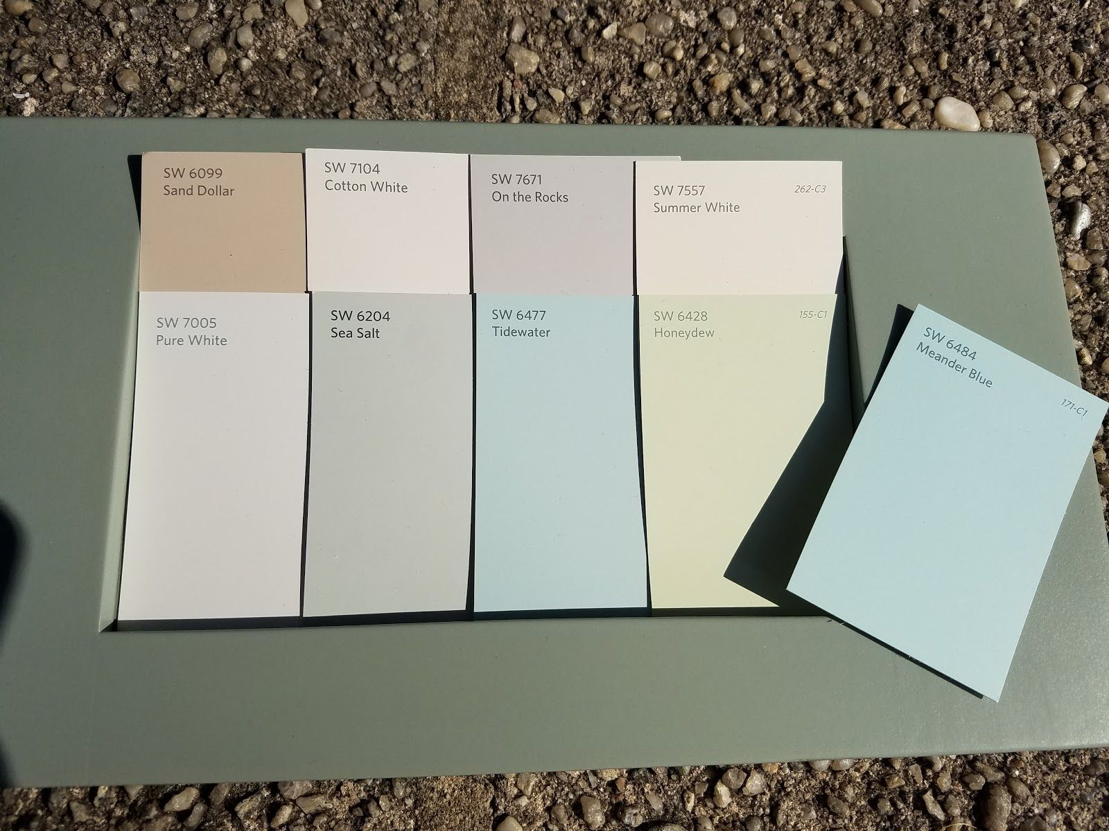 Full house paint color scheme sherwin williams low