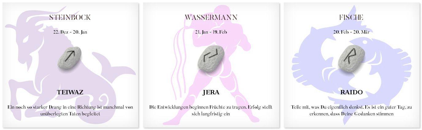 Runen Tageshoroskop 12.10.2016 #Sternzeichen #Runen #Horoskope #steinbock #wassermann #fisch