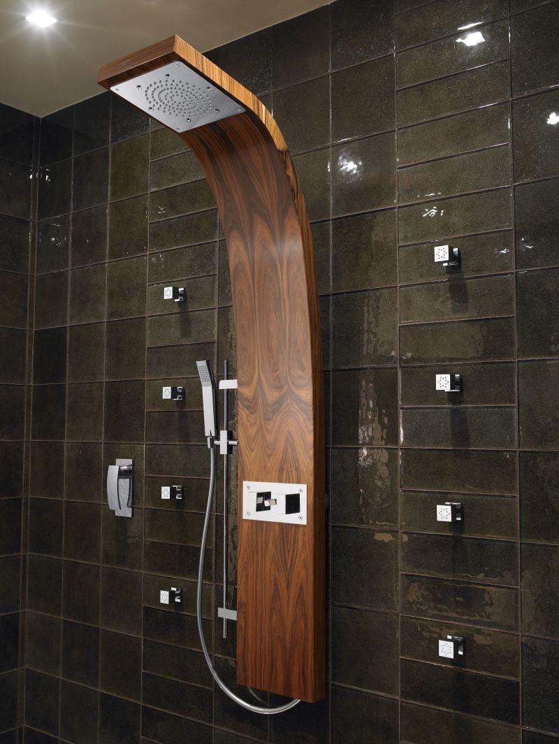 Aqvaplana™ Wood Shower Panel