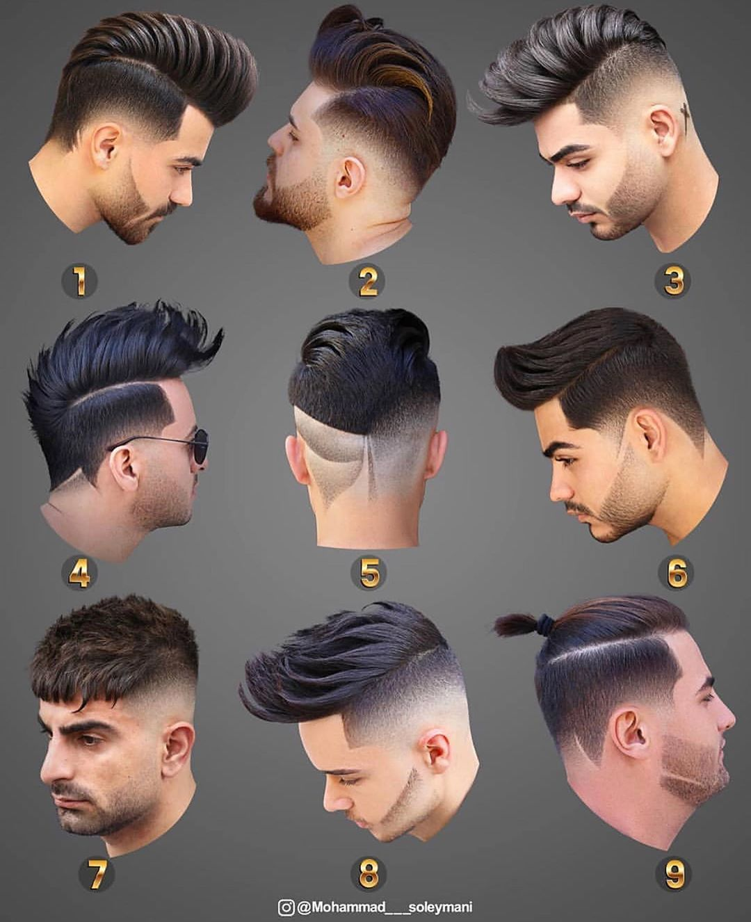 Which Is The Best Tag A Friend Comment Below Mohammad Soleymani Hairstyle Coiffure Homme Dessin Style De Coupe De Cheveux Modele Coiffure Homme