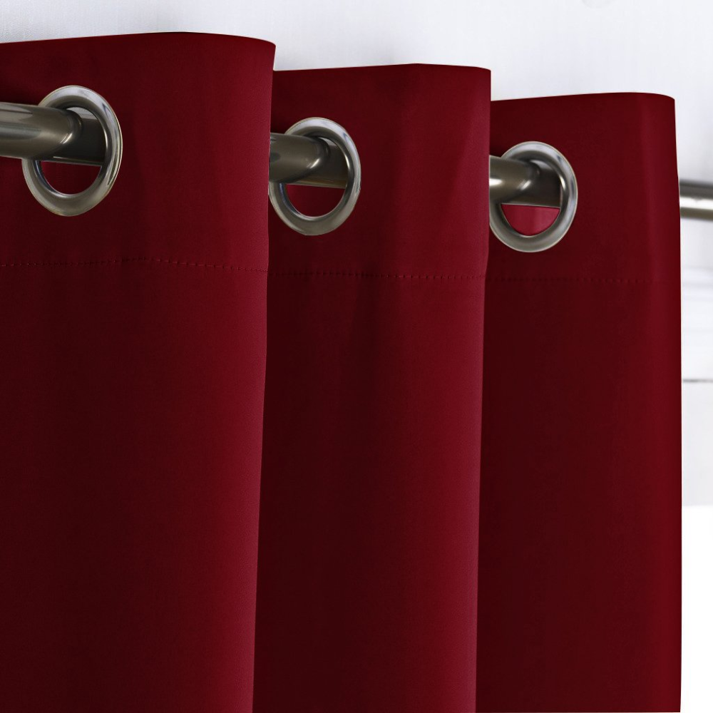 White Purple & Red Curtains Sale Ease Bedding with Style