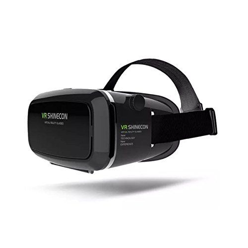 93221623a5f6 VR Glasses Ailina 3D VR Headset Virtual Reality Box with Adjustable Lens  and Support for 3555 inch Smartphone 3D Movies and Games Black   Check out…