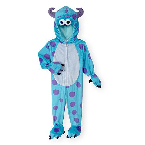 disney boys bluepurple monsters inc sulley halloween costume babies r - Monsters Inc Baby Halloween Costumes