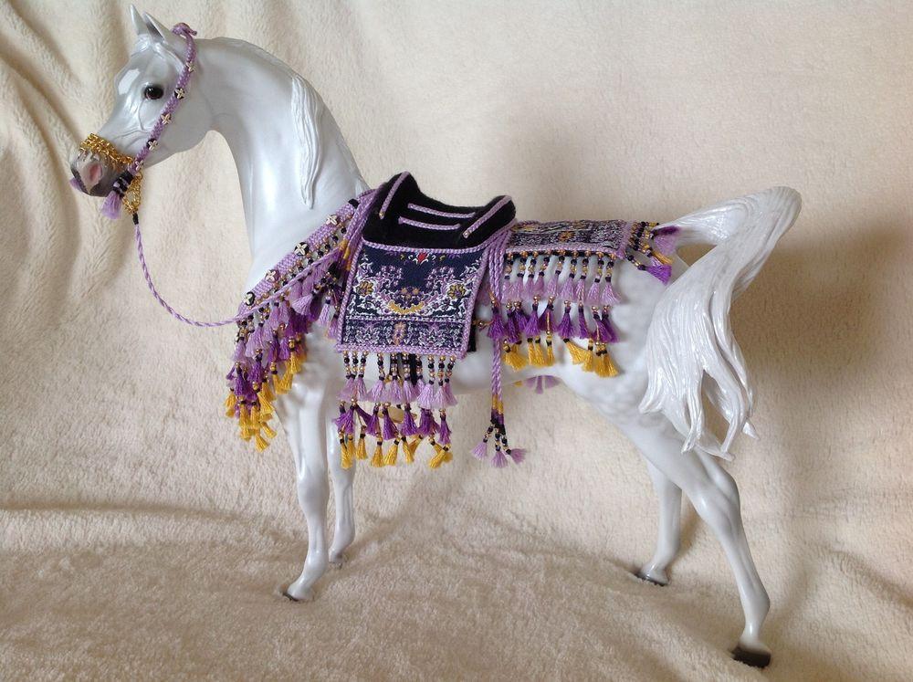 Breyer Peter Stone horse custom parade arabian costume