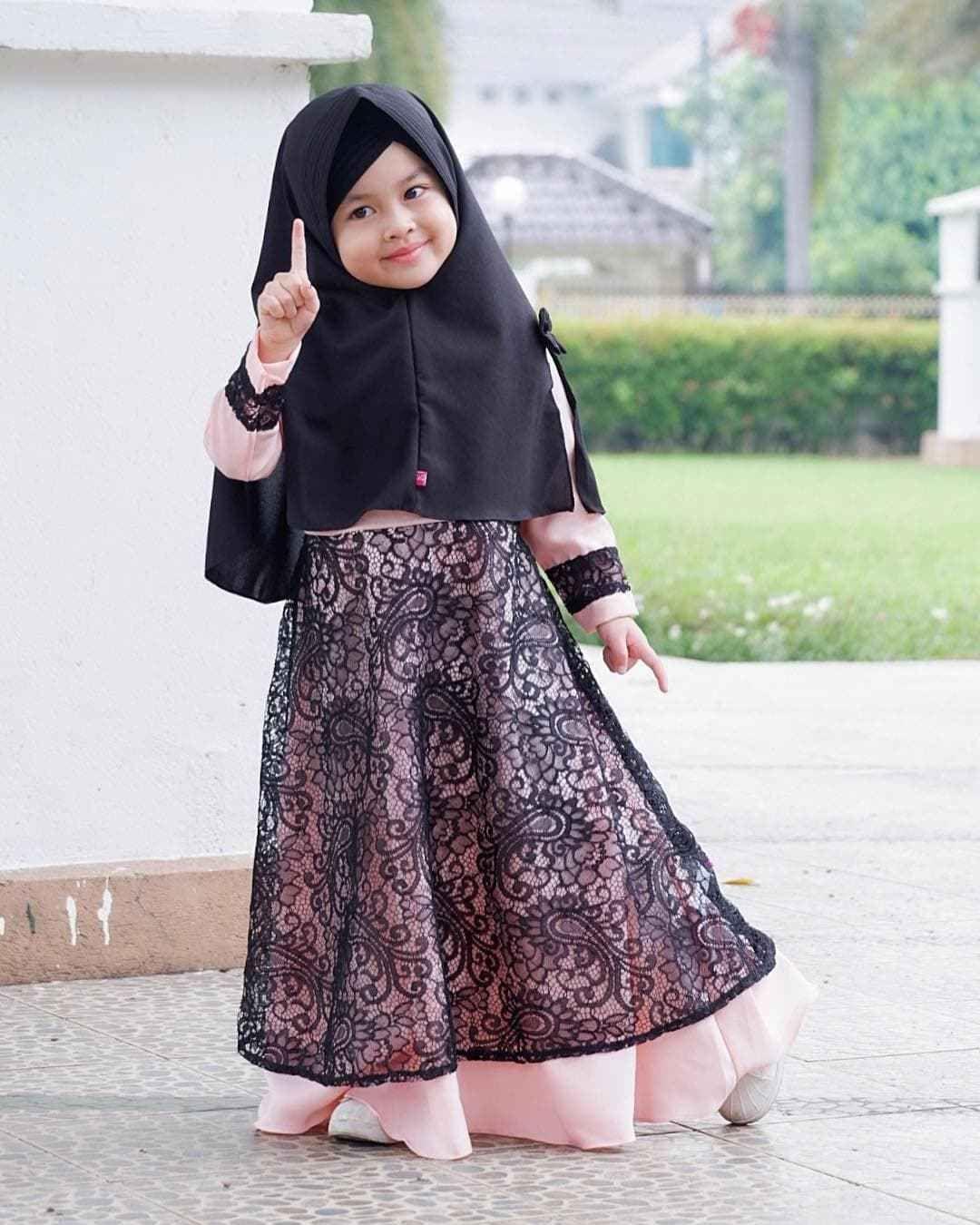 Model Gamis Terbaru Anak10 di 100100  Pakaian bayi perempuan, Baju