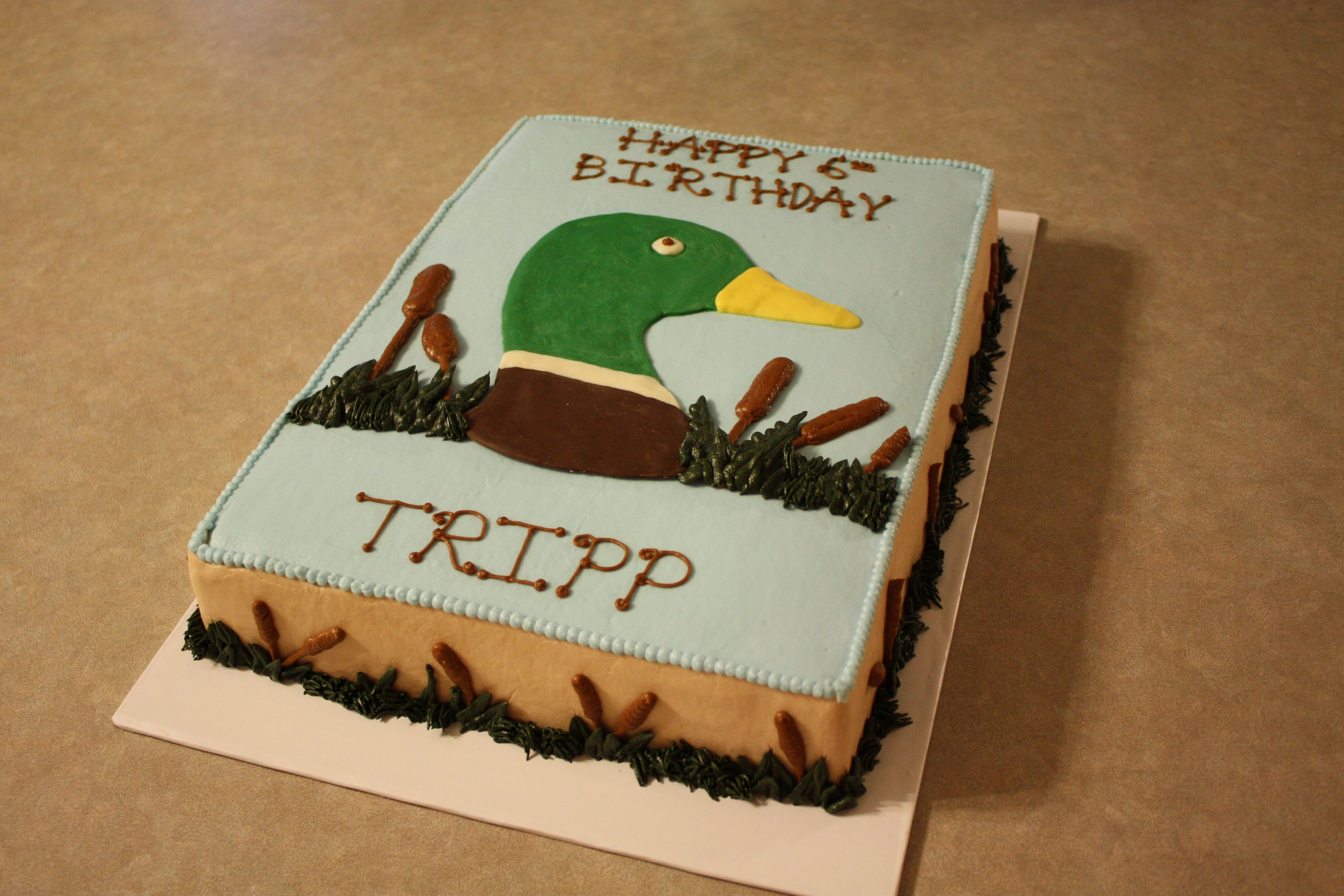 Duck Hunter Hunting Birthday Cakes Duck Hunting Cakes Duck