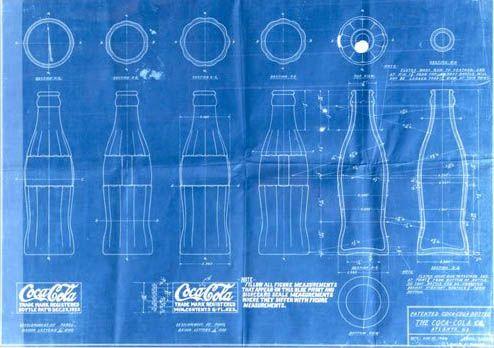 Coca cola bottle blueprint blueprints pinterest coca cola coca cola bottle blueprint malvernweather Images