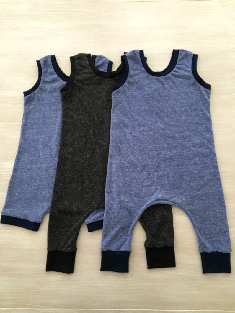 e1dd1f194 Knit Baby Romper Tutorial | FREE Easy Sewing Projects for Beginners ...