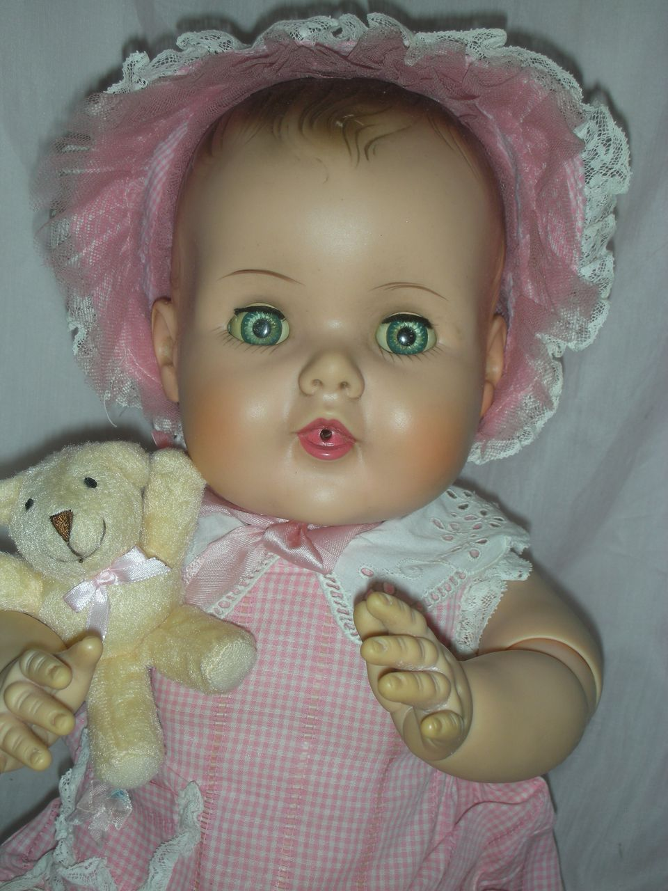 1950s American Character Rubber Doll This Is A Madame