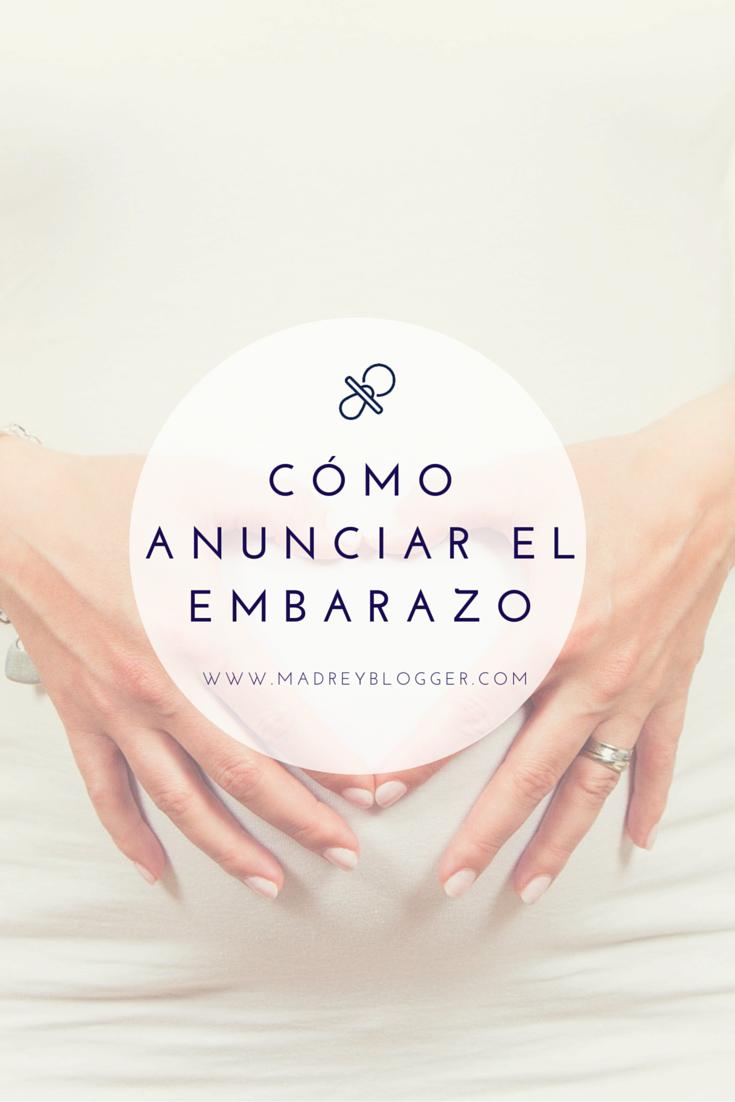 Cómo Anunciar El Embarazo Como Anunciar Embarazo Frases