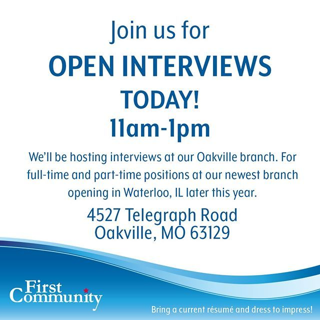 We Are Hosting Open Interviews TODAY From 11am-1pm At Our