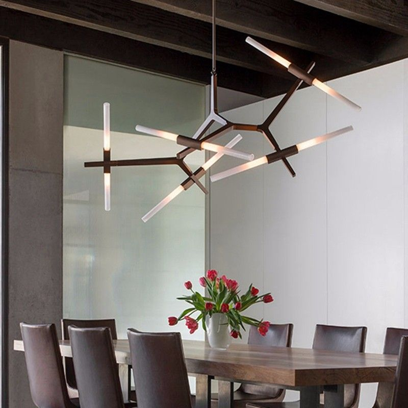 Perfect Modern Minimalist LED Chandelier Light Rotatable Branch Nordic Agnes With  G9u2026
