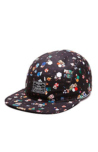 5050de8c22a PacSun presents the Nike SB Beach 5 Panel Hat for men. This colorful men s  hat
