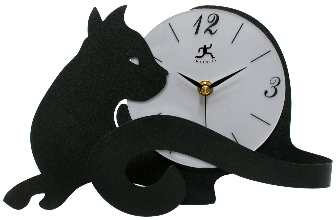 It's time to get a Cat Tail Clock - on the About Us page of KittyCommotion.com