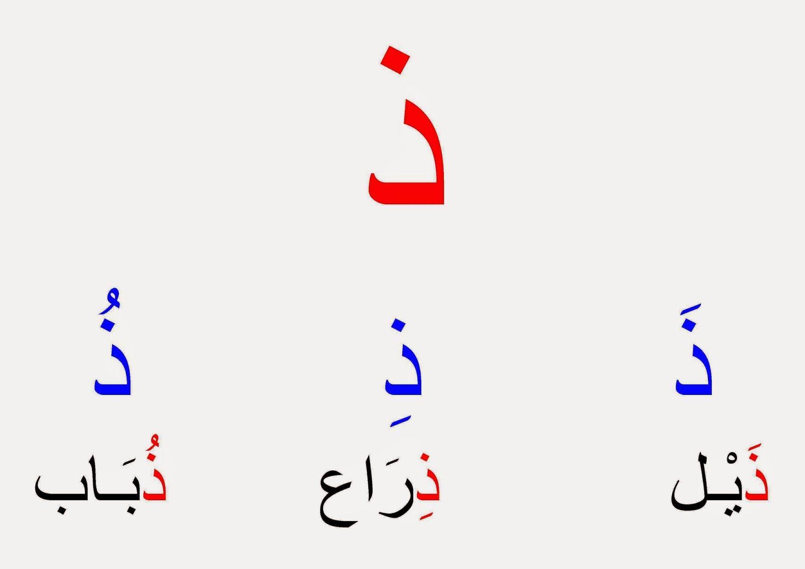 روضة العلم للاطفال حروف الهجاء مع التشكيل Learn Arabic Alphabet Arabic Alphabet For Kids Learning Arabic