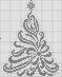 This is a picture of Juicy Free Printable Christmas Ornament Cross Stitch Patterns