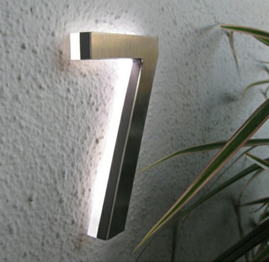 Modern House Numbers for Every Budget Small things What s and