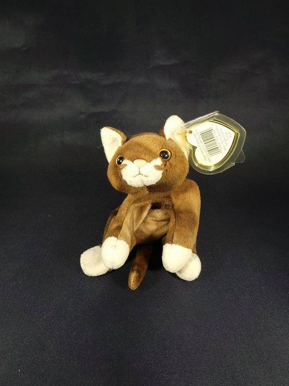 8e3808ce477 1997 Ty Beanie Babies Collection Pounce The Cat