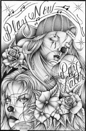 Lowrider Art Girls | tagged as lowrider art lowrider art drawings ...