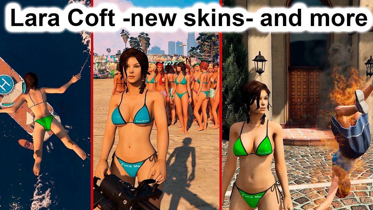 Gta 5 Lara Croft