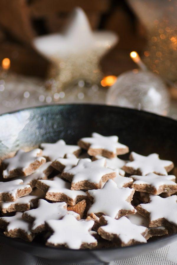 Zimtsterne | ZimtkeksundApfeltarte.de | einfaches, glutenfreies Rezept #cinnamonsugarcookies