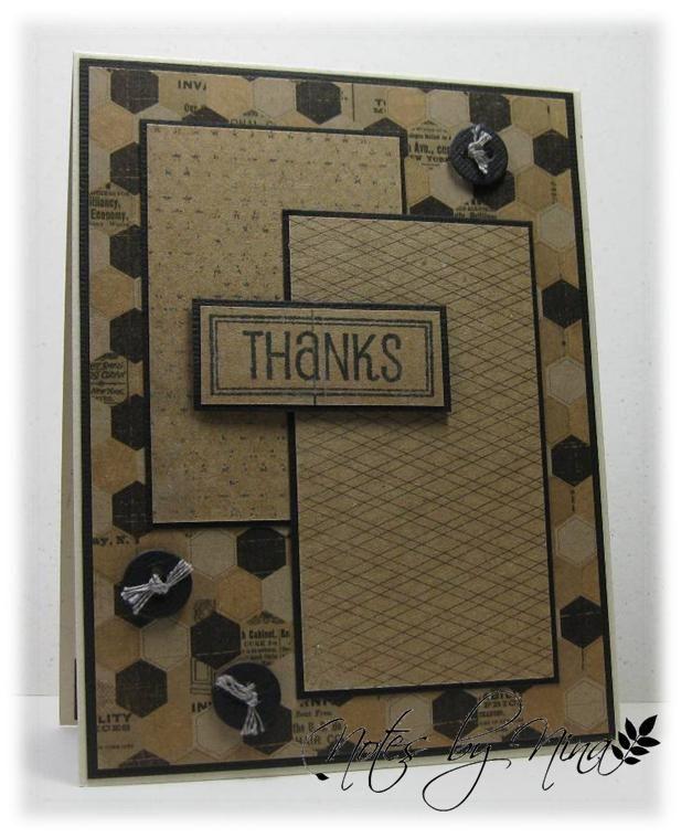 Thank you/Notes By Nina