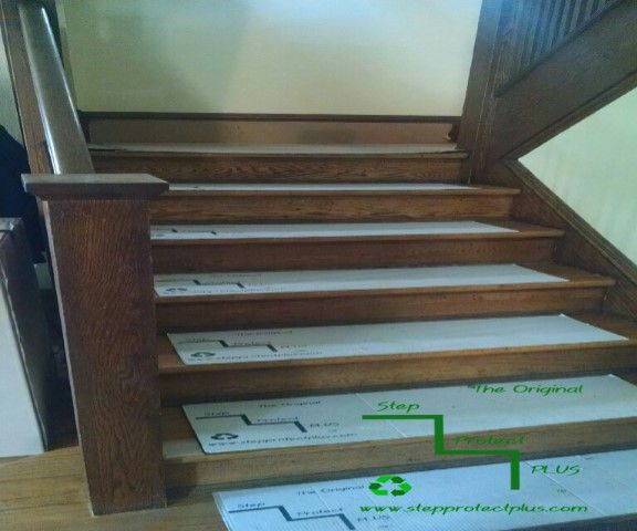 Best Temporary Stair Protection Pads Stairs Hardwood Stairs 400 x 300