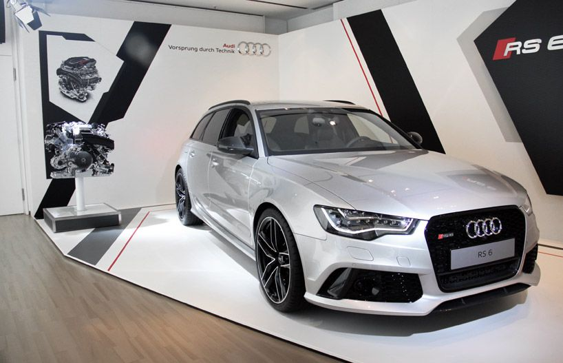 2014 Audi RS6 Avant ~The wife's car.. to smoke beamers and mercs.