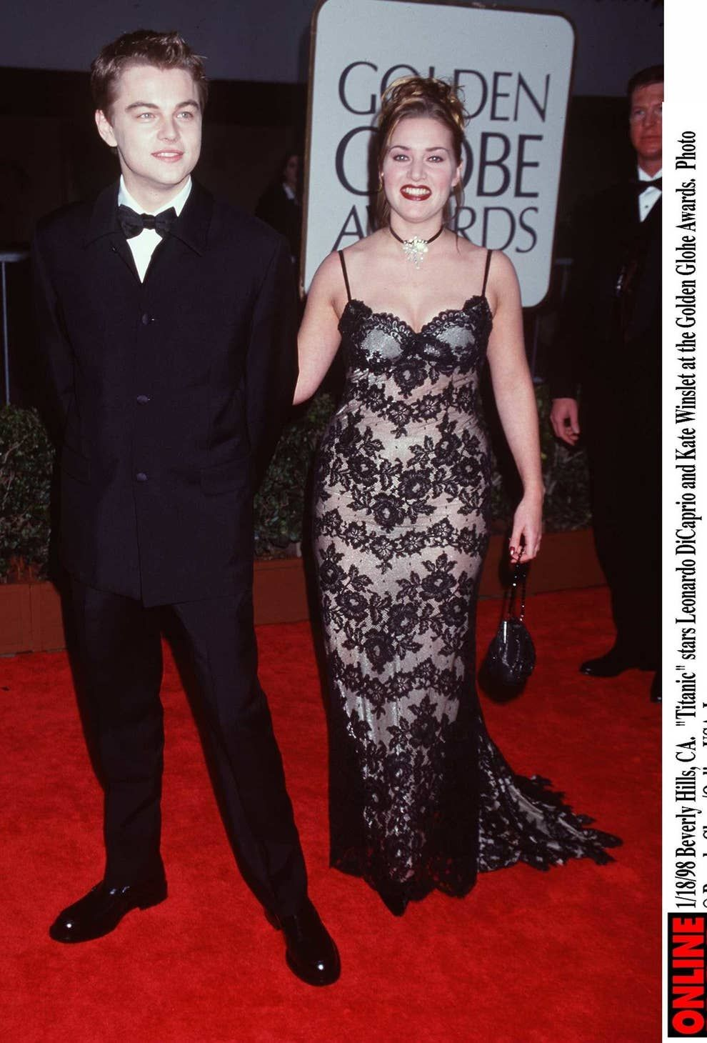 """Just A Reminder Of How Beautifully '90s The """"Titanic"""" Premiere Was in 2020  