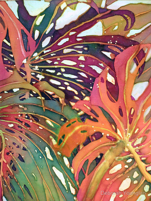Palm Patterns 1 by Deborah Younglao