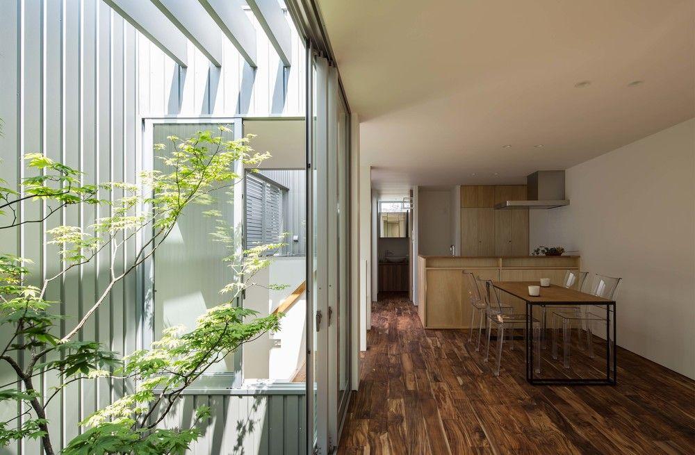 House In Otori 光も風も入るシルバーの壁 大阪 設計事務所 Arbol