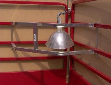 Light Guard & Light Holder - Ketcham's Sheep Equipment Ketcham's Sheep Equipment