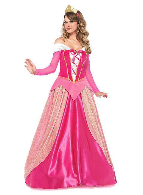 prinzessin kleid damen dornröschen