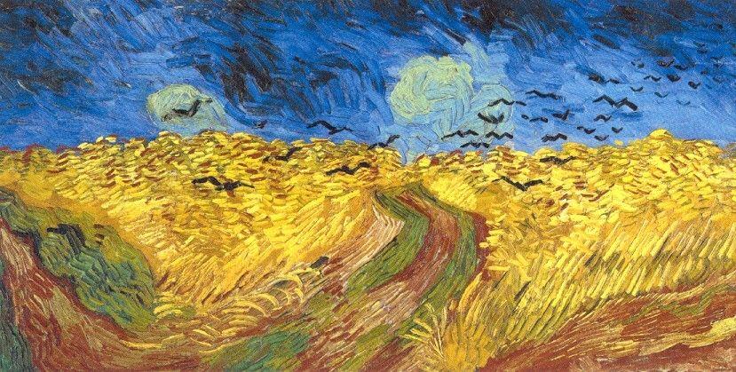Van Gogh Campo De Trigo Con Cuervos Volando 1890 Museo Van Gogh Amsterdam Van Gogh Art Vincent Van Gogh Paintings Vincent Van Gogh