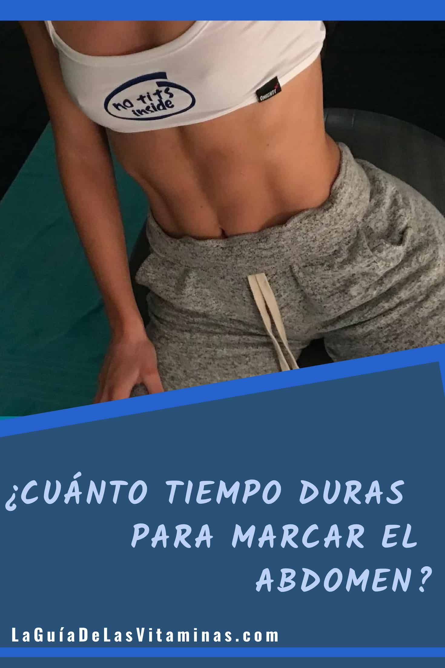 porcentaje de grasa corporal para marcar abdomen