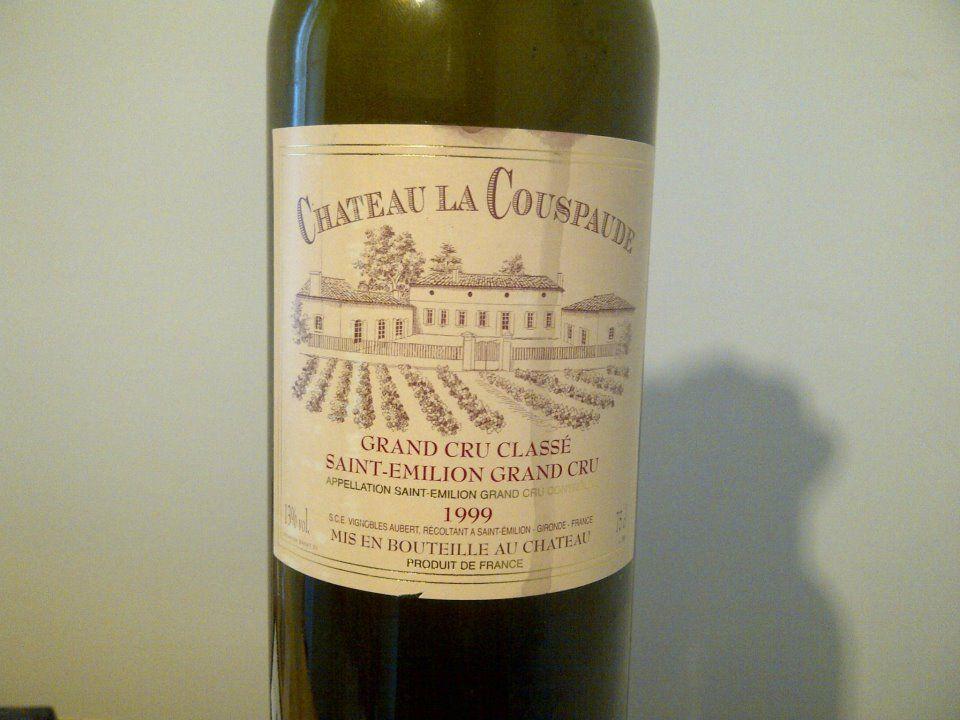 1999 Chateau La Couspaude St-Emilion Grand Cru Classe   Wine ...