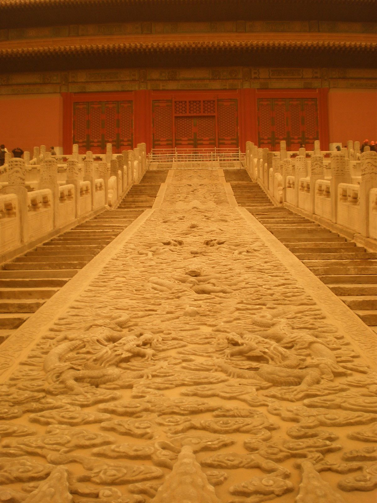 Beautiful memories of the Forbidden City in Beijing...the largest stone carving in the palace - Hall of Supreme Harmony