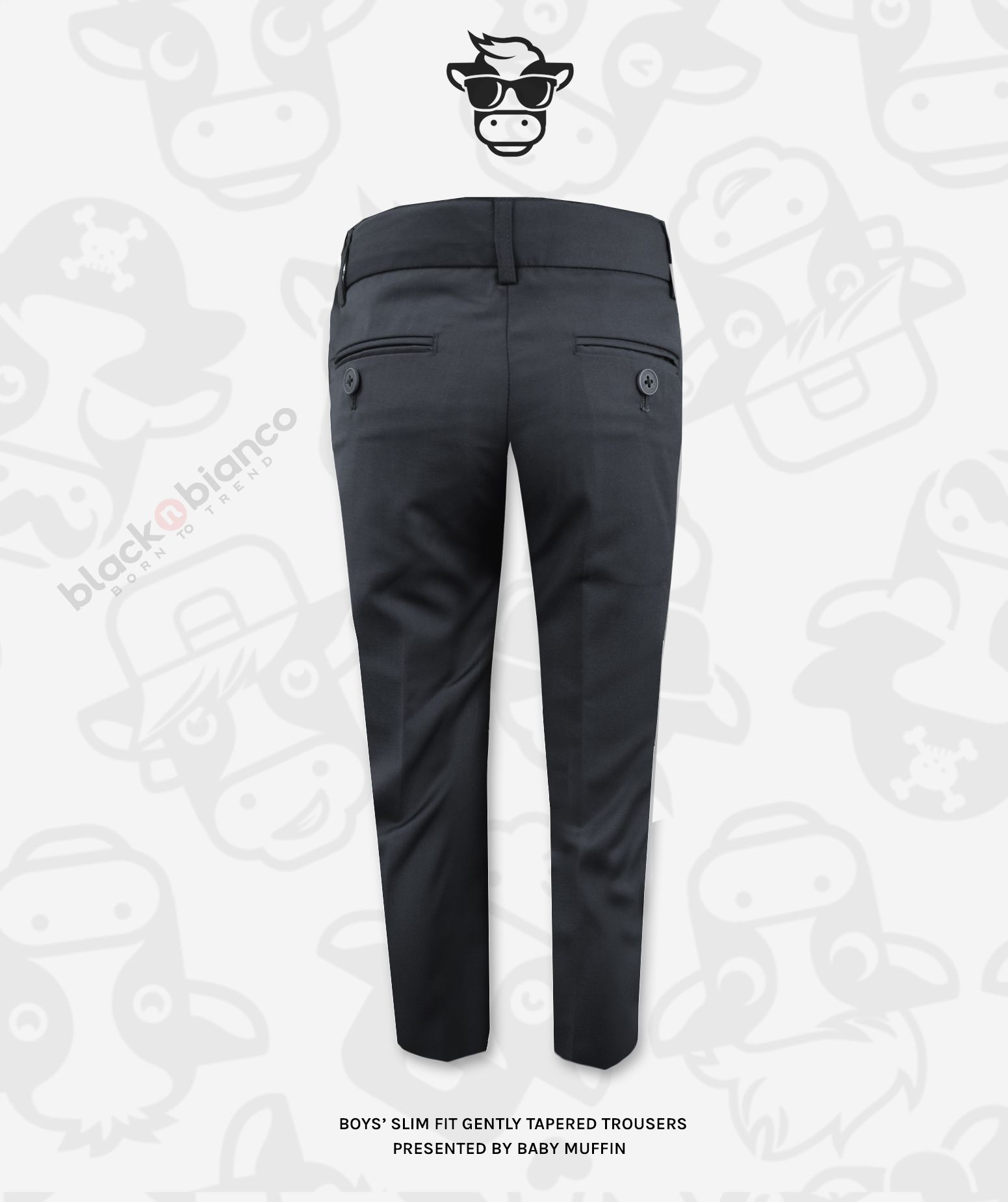 19++ Boys charcoal dress pants trends