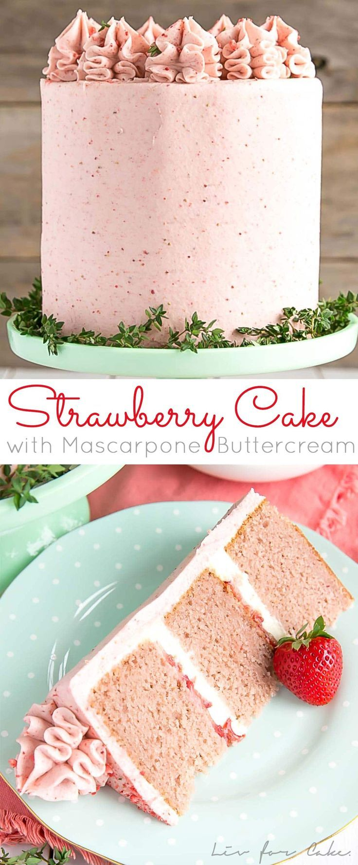 This delicious strawberry cake from scratch is made with fresh strawberries and …..