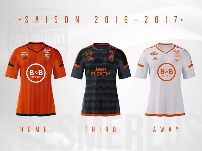Best Adidas FC Lorient 15 16 Kits Released