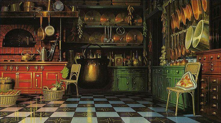 千 と 千尋 の 神隠し Background Google 検索 家 絵 部屋 イラスト ジブリ ポスター