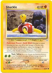 Neo Revelation Card 51 - Shuckle $0.49-$1.50